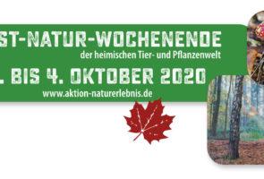 Veranstaltungskalender des Herbst-Natur-Wochenende 2020